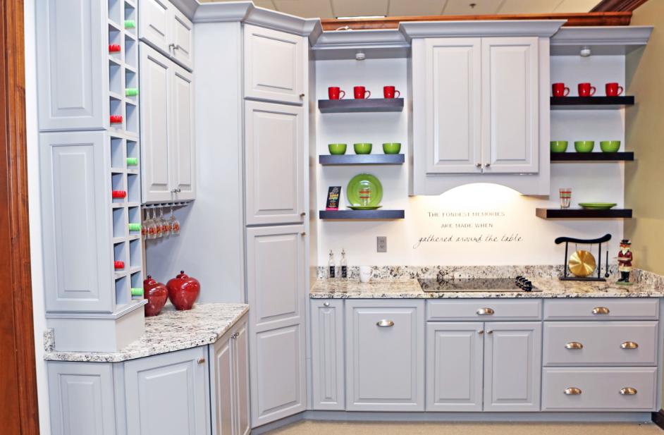 Moehl Millwork Showroom Kitchen Cabinets