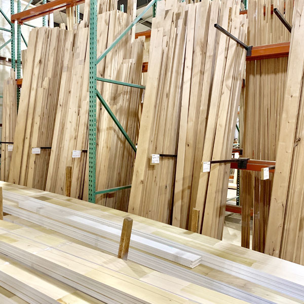 Moehl Millwork In-House Production Department