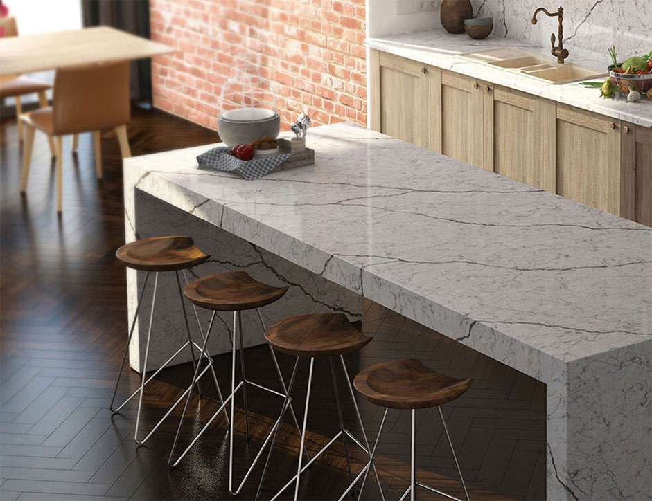 Moehl Millwork provides countertops by Vicostone for your project needs.